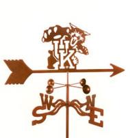 Kentucky Wildcats Logo Weathervane with mount