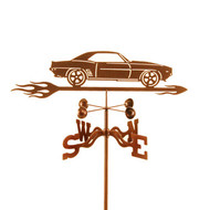 Car-69 Camaro Weathervane With Mount