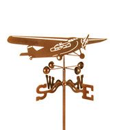 Airplane-Trimotor Weathervane With Mount