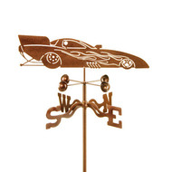 Car-Funny Weathervane With Mount