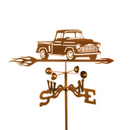 Car-Chevy Truck Weathervane With Mount