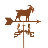 Goat Weathervane With Mount