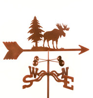 Moose Weathervane With Mount