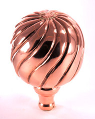 Finial - Large Parisian- Copper Polished