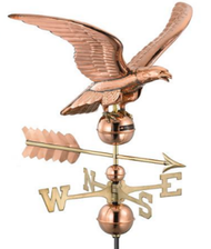 Good Directions Smithsonian 955P Eagle Weathervane - Polished Copper