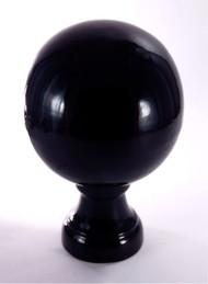Finial - Large Londoner-  Black Gloss