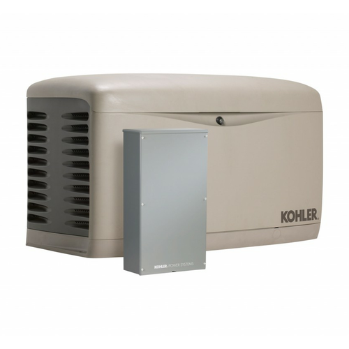 Kohler 20RESAL-100LC16 20kW Generator with 100A 16-circuit Transfer Switch