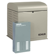Kohler 8RESVL-100LC12 8kW Generator with 100A 12-circuit Transfer Switch
