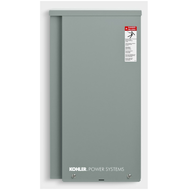 Kohler RXT-JFNC-0100B 100A 1Ø-120/240V Nema 3R Automatic Transfer Switch with 16-circuit Load Center