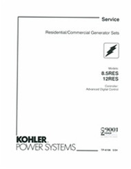 Kohler TP-6196 Diagnostic Repair Manual
