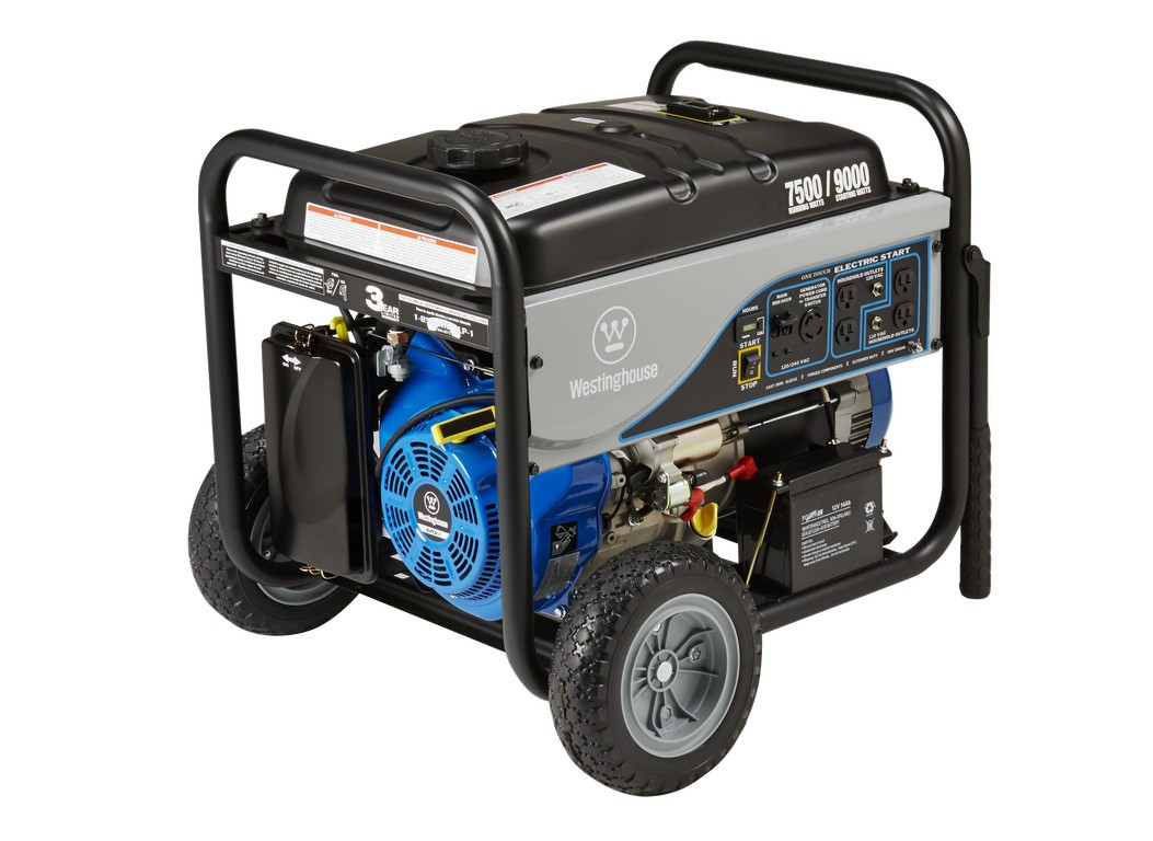 Westinghouse Wh7500e 7500w Electric Start Portable Generator Wiring Diagram For Onan 7500 Watt
