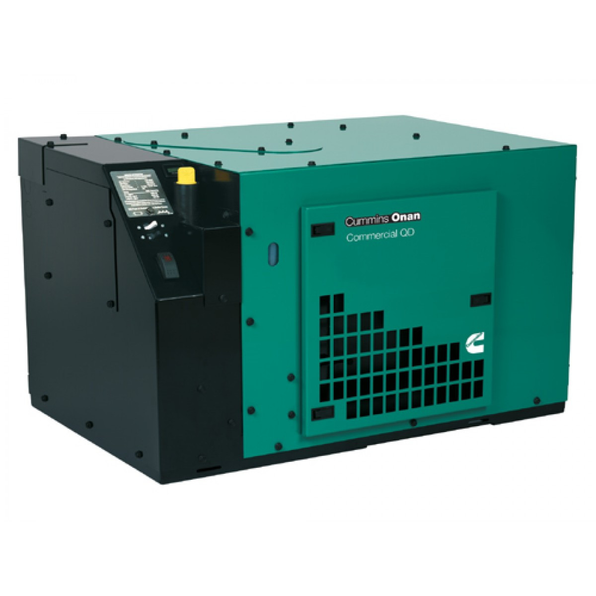 Cummins Onan Commercial Series Qd5000 5kw Diesel Mobile Generator  120 Volt Only