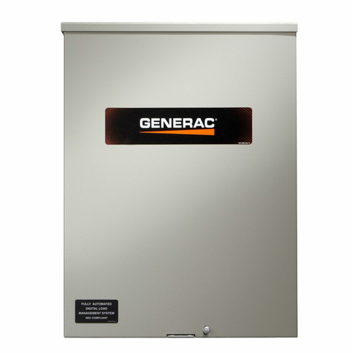 Generac RXSW200A3 200A 1Ø-120/240V Service Rated Nema 3R Automatic Transfer Switch