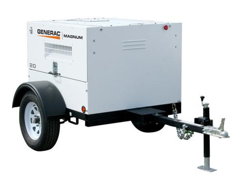 Generac MLG20IF4 19kW Mobile Light Towable Diesel Generator with Isuzu Engine
