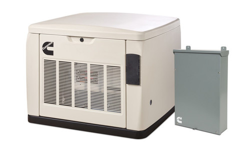 Cummins RS20AC 20kW Quiet Connect Generator with 200A SE Transfer Switch