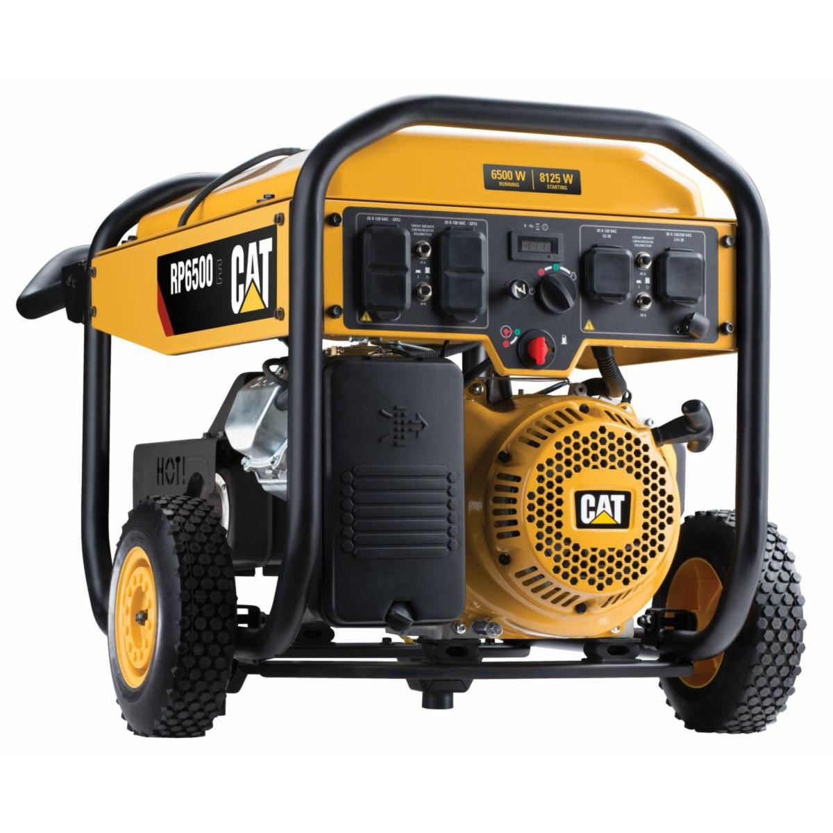 CAT RP6500E 6500W Electric Start Portable Generator