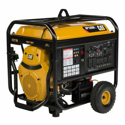 Caterpillar Rp12000e 12000w Electric Start Portable