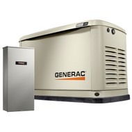 Generac Guardian 70321 11kW Generator with Wi-Fi & 100A 16-circuit Transfer Switch