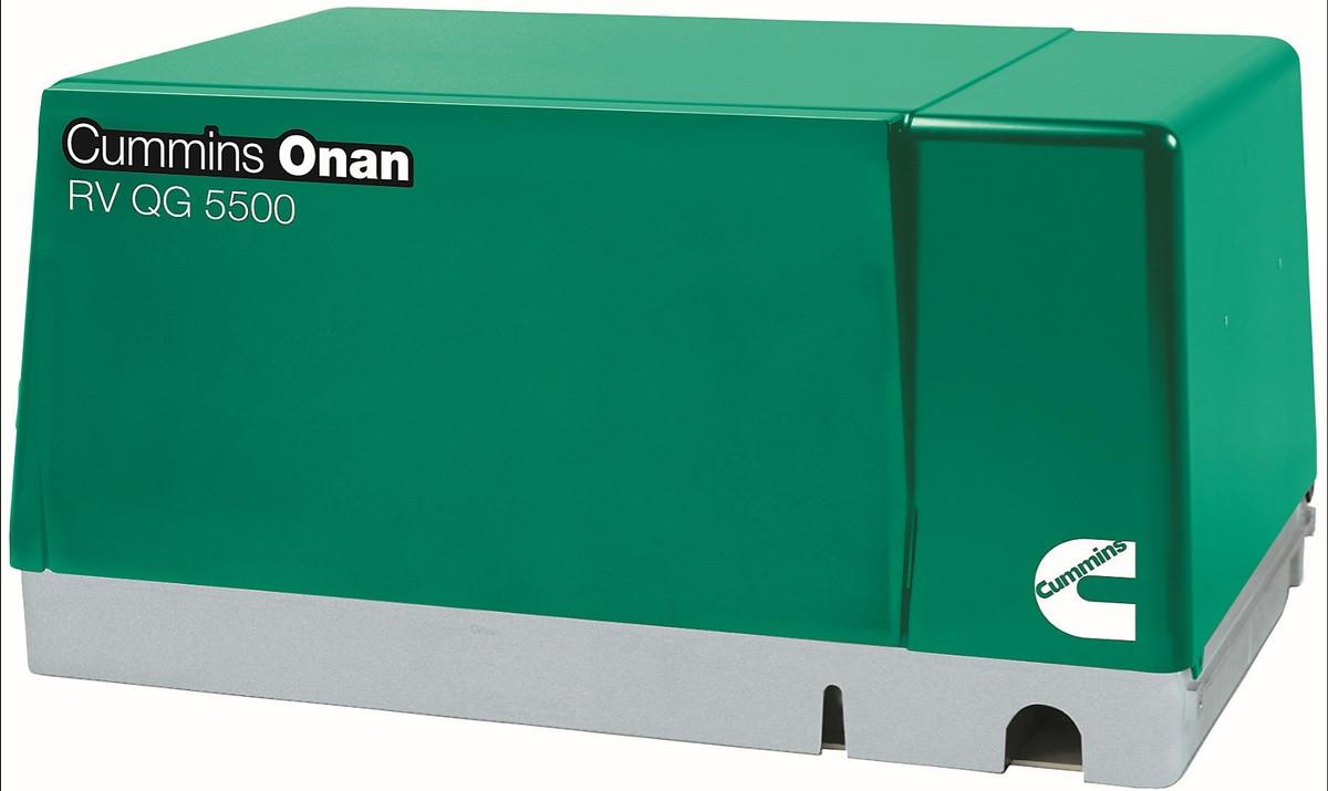 Cummins Onan 5.5HGJAB-1038 QG 5500W Gasoline RV Generator