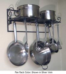 Pot & Pan Rack Southern Style Scroll