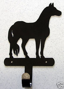 Horse Western Towel Robe Hook Metal Art