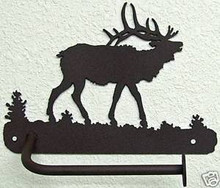 Elk Rustic Lodge Toilet Paper Holder