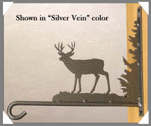 Deer Metal Art Garden Decor Plant Hanger