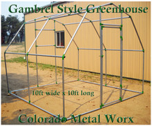 "Gambrel Greenhouse Fitting Kits for 1-3/8"" top rail tubing"