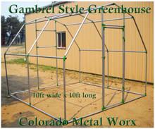 "Gambrel Greenhouse Fitting Kits for 1-3/8"" top rail tubing"