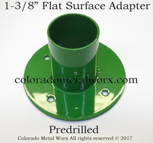 "Flat Surface Adapter for 1-3/8"" tubing"