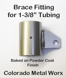 """Greenhouse Brace fitting for 1-3/8"""" Tubing"""