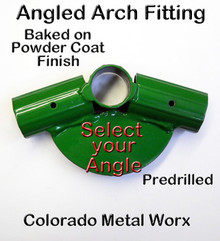"Angled Arch Fitting for 3/4"" EMT"