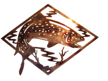 Trout Brook Metal Wall Art