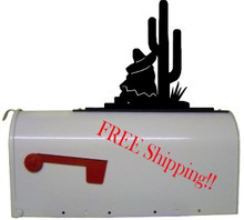 Southwest Cactus Mailbox Topper