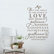 The Fruit of the Spirit - Wall Decal