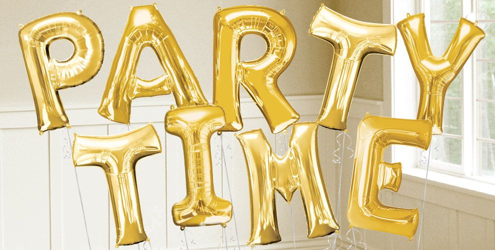 "big gold letter balloons 34"" gold helium letter balloons"