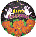 "18"" Many Pumpkins Helium Foil Balloons 1ct #88019"