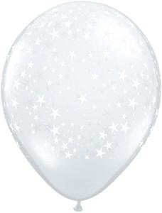 "11"" Diamond Clear Stars Around 50ct #12030"