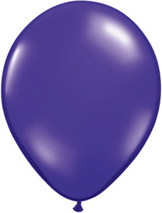 16 inch quartz purple latex balloons