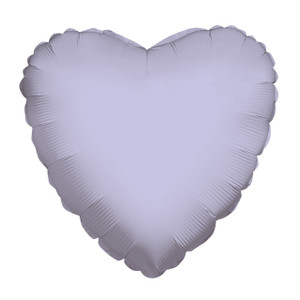 lilac heart balloons lavender heart balloons