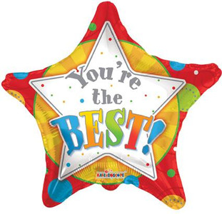 "18"" Your the Best Stars 1ct #88062"