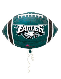 "18"" NFL Philadelphia Eagles Football Shape Balloon 1ct# 29602"