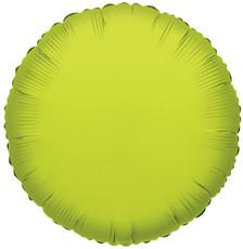 lime circle balloons lime green balloons