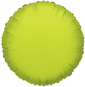 lime circle balloons lime green balloons