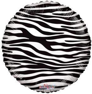 zebra print balloons