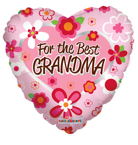 "18"" The Best Grandma Balloon 1ct #88089"
