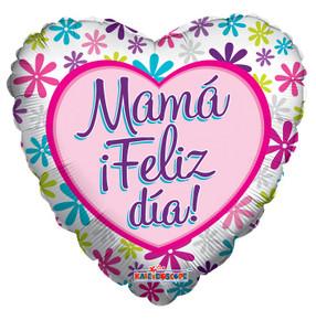 """18"""" Mama Feliz Dia Globos 1ct #34642"""