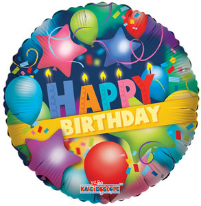 "18"" Happy Birthday Party Helium Foil Balloon 1ct #19179"