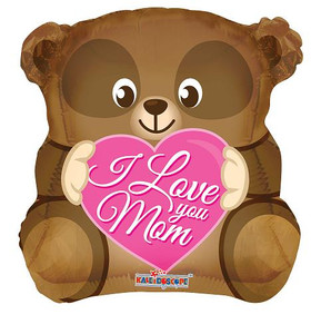 "18"" I Love You Mom Bear 1ct #84196"