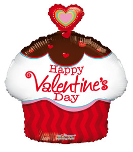 happy valentine mylar balloons